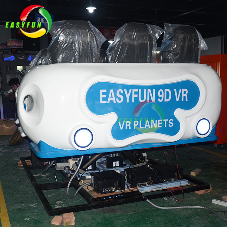 Amusement Park 9D VR Simulator Equipment 6 Seats 9D VR Roller Coaster Virtual Reality Simulation Rides