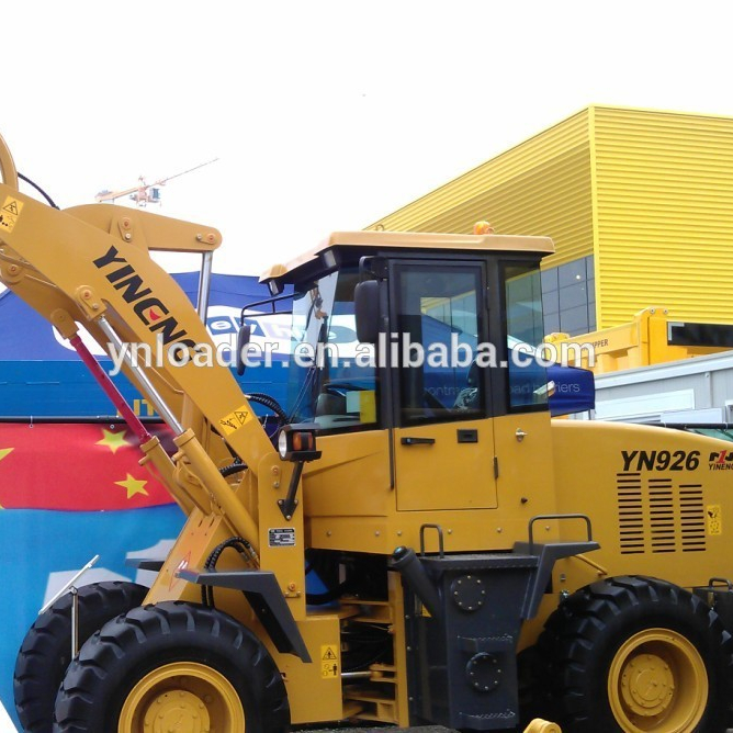 2018 Cina vendita calda mini skid steer wheel loader con allegati