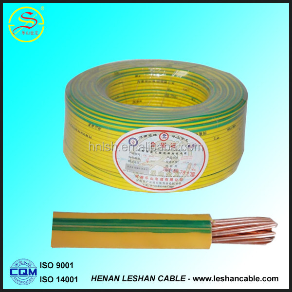 high quality factory price house wiring <strong>copper</strong> or aluminum conductor 2.5mm pvc electric cable wire