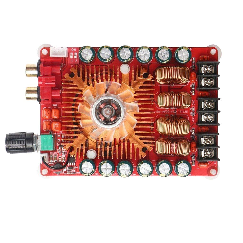 Dovewill TDA7498E 160W+160W Two Channel Audio Power Amplifier Board Module 109 x 79mm