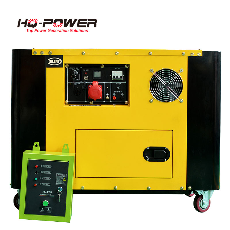 silent electricity generation 10kw home generator price list