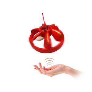 hot sale remote control foam induction ufo flying saucer toy on sale