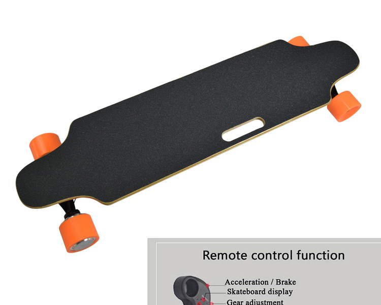 Remote Control Skateboard >> Wholesale Dual Motor Skate Board Remote Control Boosted Electric Skateboard Longboard View Electric Skateboard Longboard Oem Service Product Details