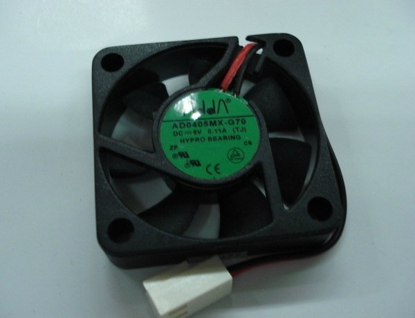 Used Free Shipping DC5V 0 11A Server Cooling Fan For ADDA AD0405MX G70 Server Square Fan