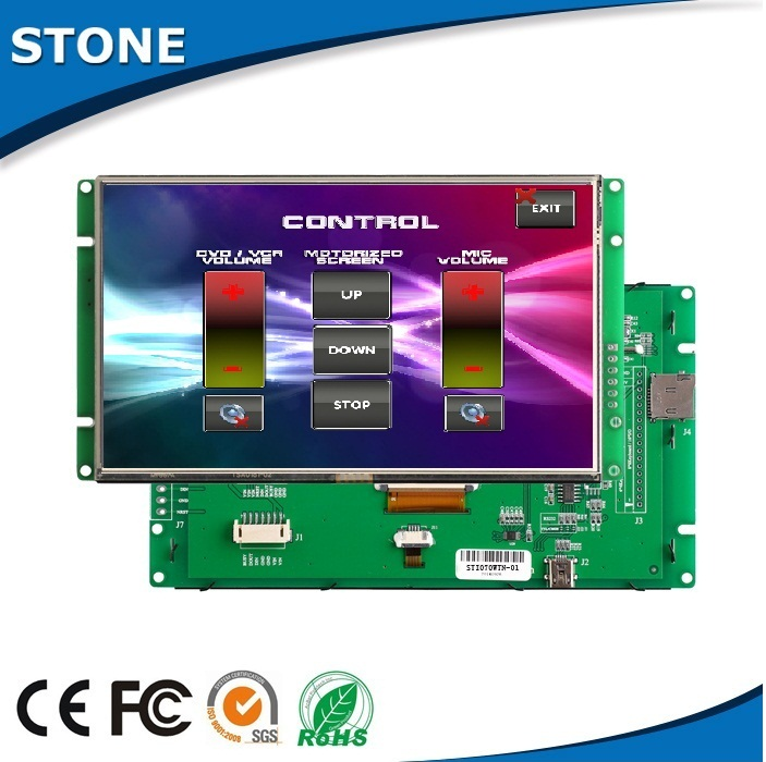 "Tft module 4.3"" integrated lcd screen touch pos display"