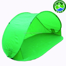 OEM pop up strand zon onderdak/baby pop up strand tent/pop up strand tent logo