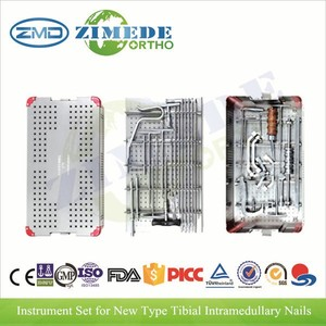 60222 New Type Tibial Interlocking Nail surgical basic orthopedic instrument set