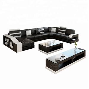 Factory Wholesale Modern U Shaped sofa set Couch Sets sofas sectionals foshan shunde furniture living room furniture