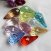 58mm Length Large Clear Crystal Acrylic Beads Teardrop China Wholesaler