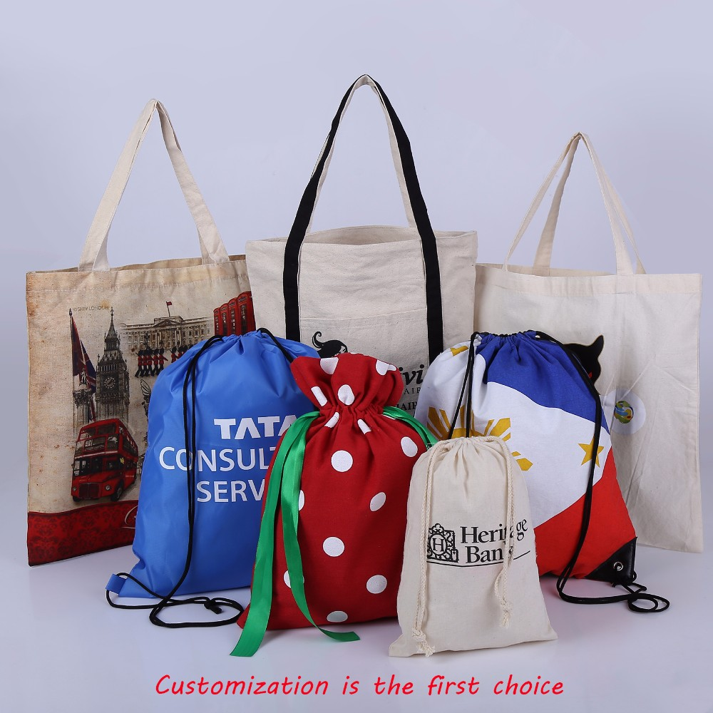 Factory Price Nylon Small Drawstring Back Pack Bag