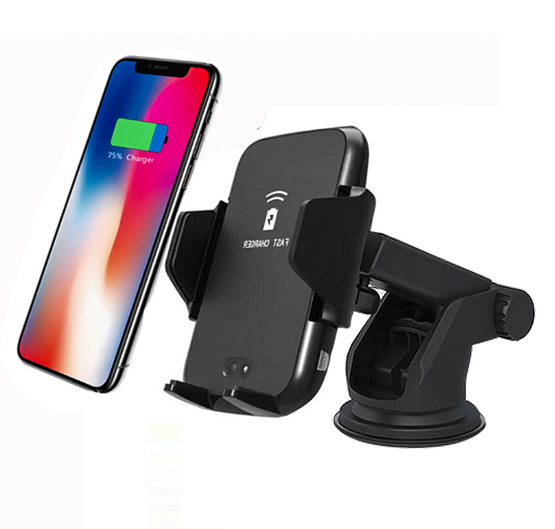 Behenda 2019 QI Standard Magnetic Car Phone Wireless Charger Dashboard Air Vent Charger For iphone XS , X Plus for Samsung S9