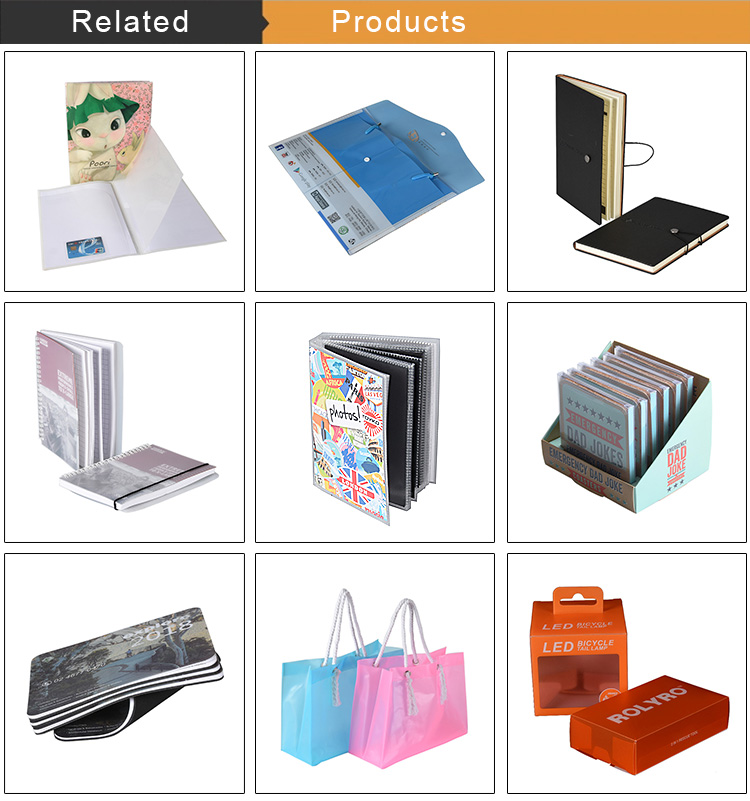 Custom Promotional Product Low Price High Quality L Shape Document Folder