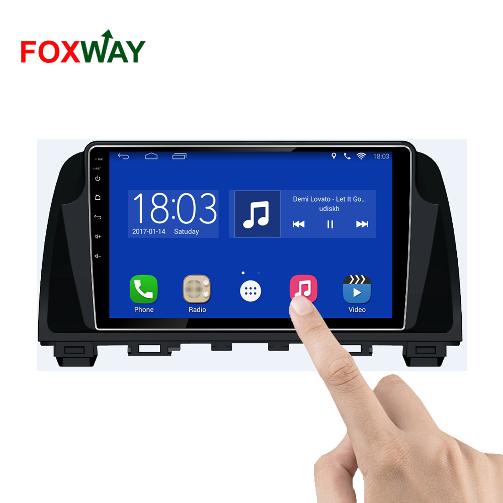 FOXWAY factory android car dvd player for Mazda 6 with audio radio multimedia gps navigation system