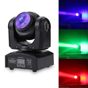 Total Power 35W Laser Stage Light 15/21 Channel Dmx 512 Beam Infinite Rotating Moving Head Rgbw Led Stage Light Pattern Lamps