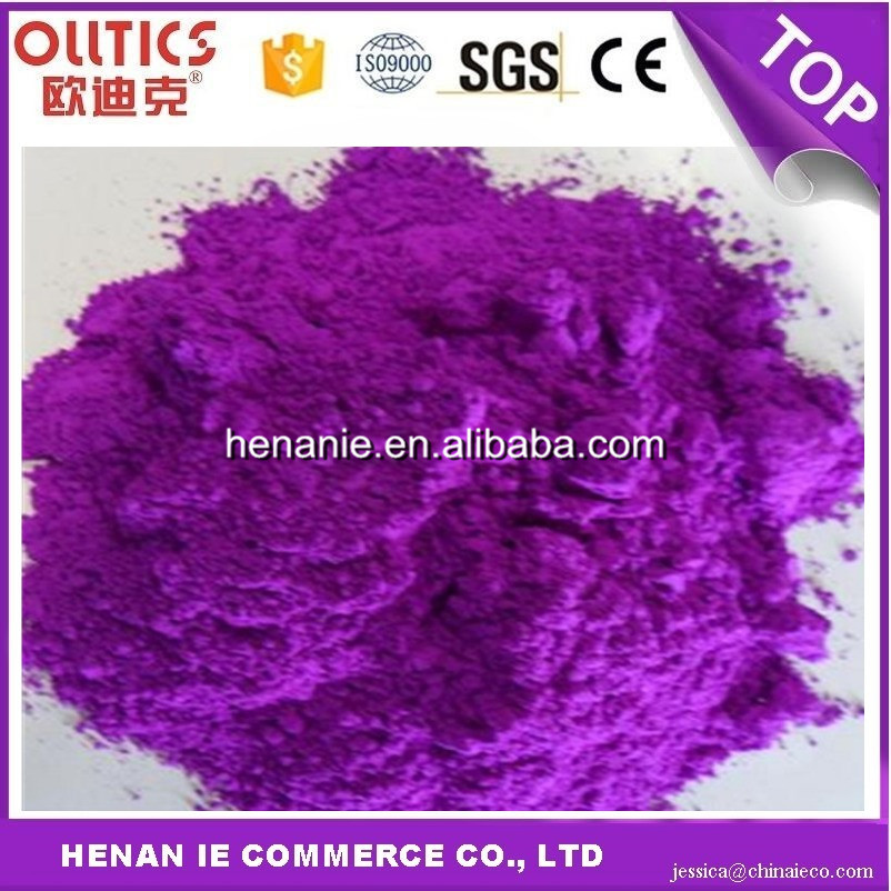 Ceramic color pigment powder for tile and glass mica