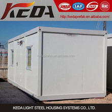Prefabricated House Modular Home Container Office for Temporary Site Camp