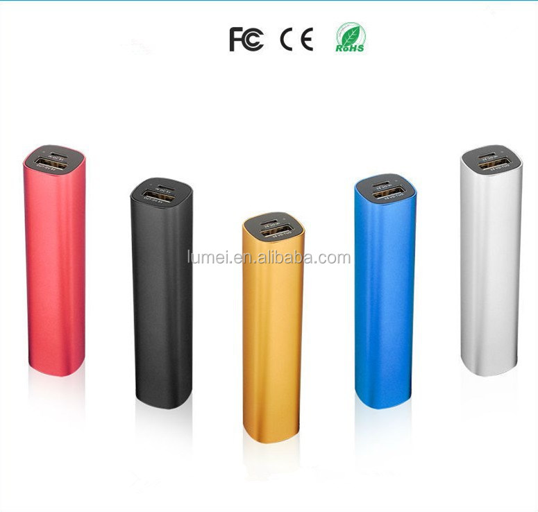 Universal Mini Portable 2600mah Power Bank For Iphone Samsung Mobile Phone