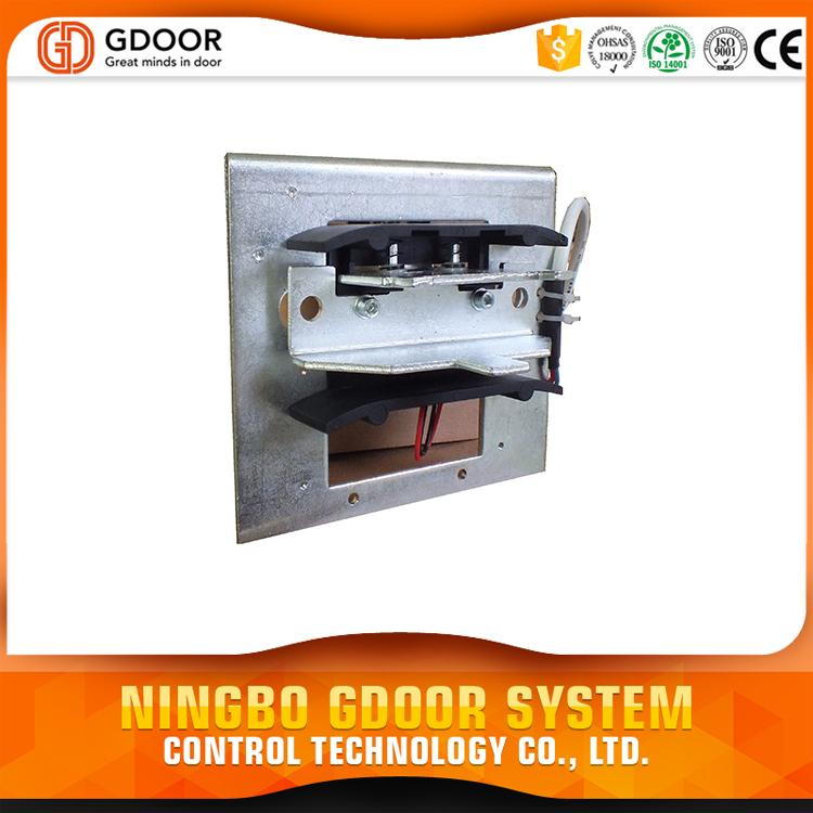 Low noise automatic sliding door drive with low price panic breakout system