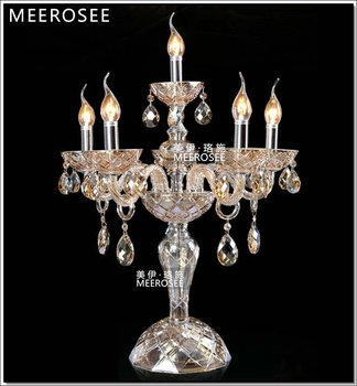 Meerosee Modern Crystal Table Lamp For Home Goods Lighting Md8426 Product On Alibaba
