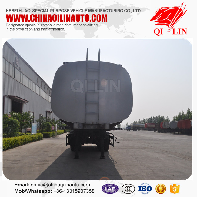 Manufacturers selling products air suspension aluminum alloy fuel tank with BPW axle