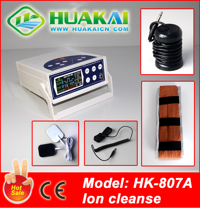 2014 Newly powerful &multi-functional spa machine with detoxfication HK-807A With accupuncture