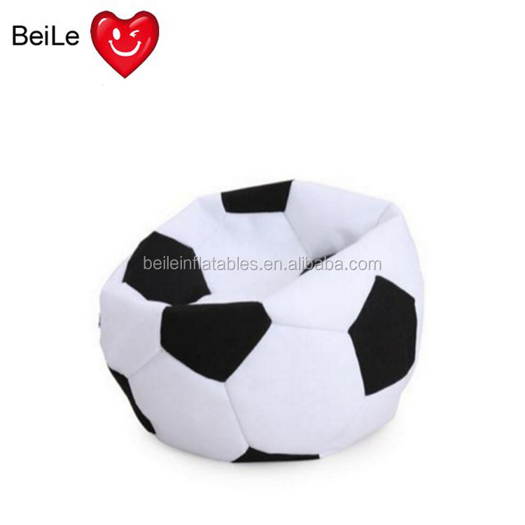 Hottest sale inflatable adult Soccer Puff chair