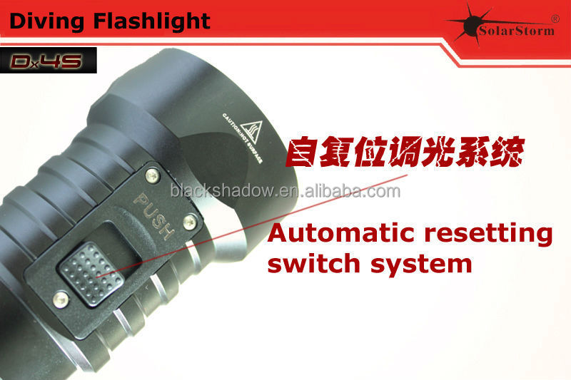 Solarstorm DX4S 2015 brand new magnetic switch led diving flashlight torch