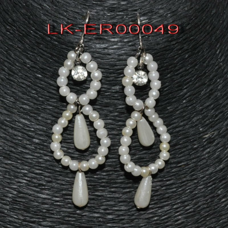 2012 fashion style, acrylic beads drop earring jewelry
