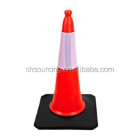 Road Warning PE Collapsible Traffic Cone