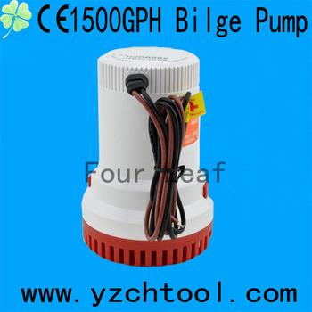 Ch8028 Four Leaf Dc 12v 1500gph Bilge Pump With Ce Buy