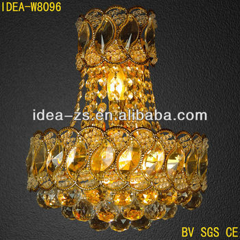 Stair Wall Light Luxury Crystal Indoor Modern Wall Lights