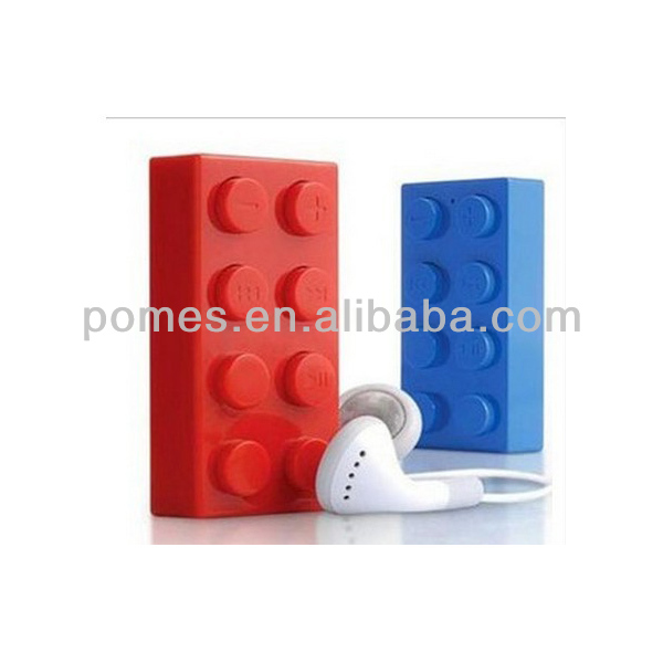 factory price building block mp3 player ,music mp3 free download and usb flash drive