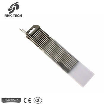High Density Grey Pure Tungsten Electrode Rod WC20 for sale