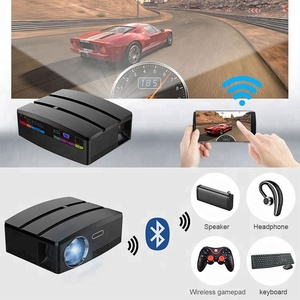 Mobile Smart Home Theater LED mini pico Beamer LED 4K Projector with Android WiFi