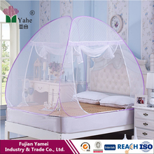 single pyramid pop up folding mosquito net exporters