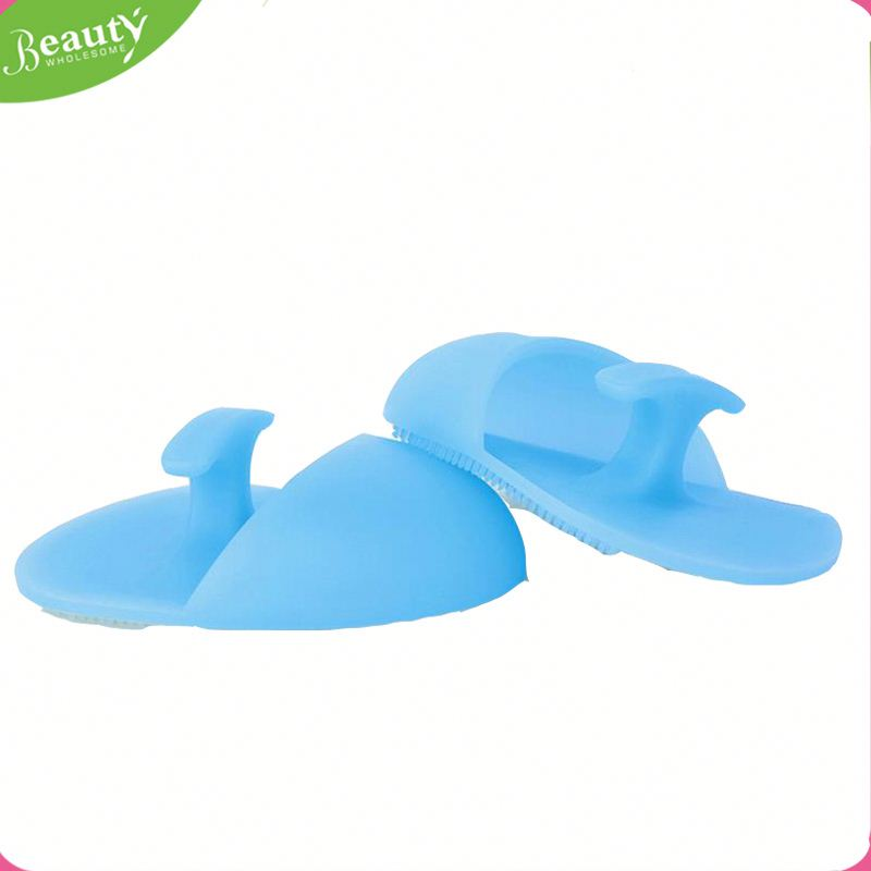 Brush facial scrubbers clean pad ,SYtw silicone facial cleansing brush