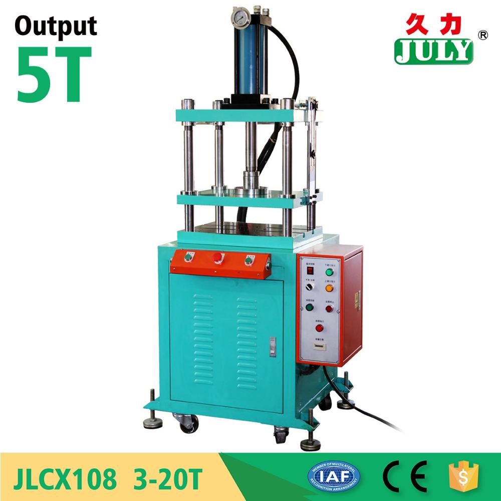 JULY factory custom 5 ton four pillars hydraulic press machine for hardware forming