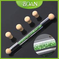 Double Sides Changeable Sponge Nail Drawing Pen Sponge Nail Art Brush Set
