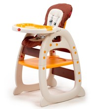 Good quality European standard 3 in 1 baby highchairs child eating feeding chairs OEM manufacturer EN14988