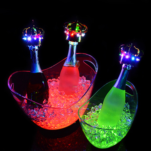Vodka Rose Champagne Led Ice Bucket