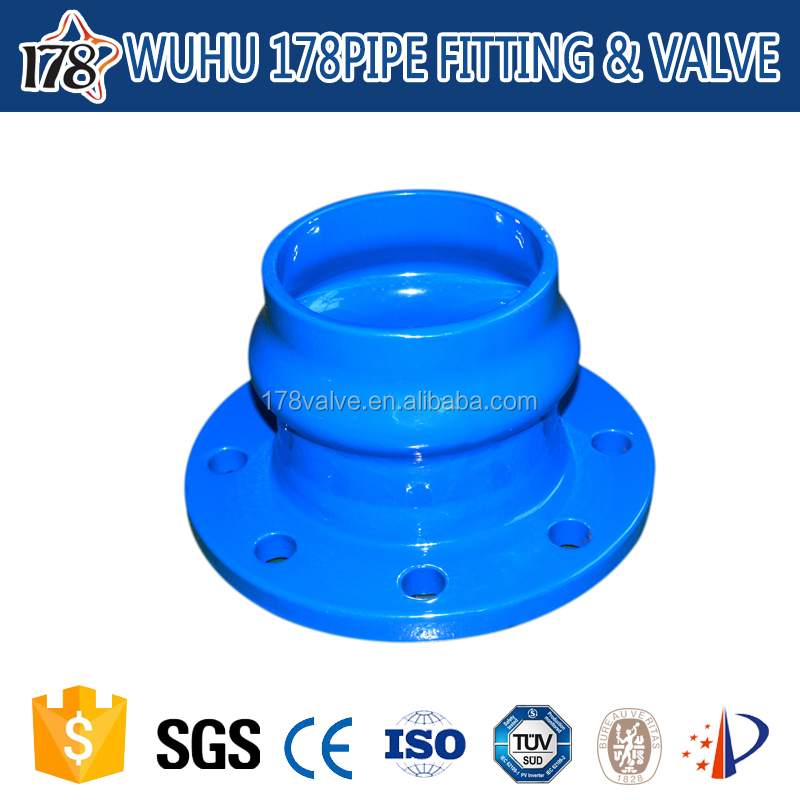 ~ china ductile iron hdpe pipe fitting