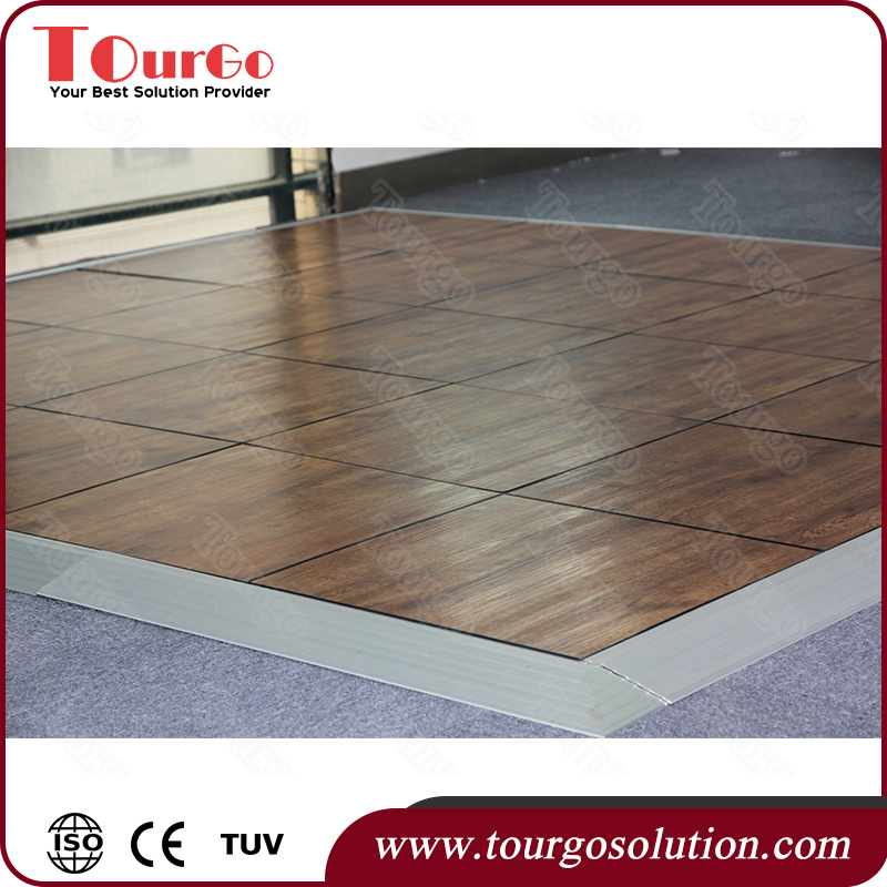 Tourgo Ballroom Portable Folding PVC Dance Floor Vinyl Flooring