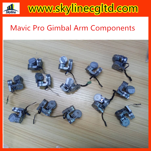 For DJI Mavic Pro Gimbals Camera Arm Components with Flat Flex Cable Drone Accessories Repair Parts