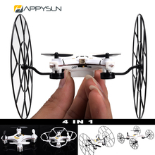 Newest Good Quality 4-In 1 Drone Racer With Wheel