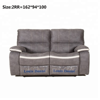 Modern and Traditional Grey Fabric Recliner Chair LoveSeat and Sofa chair  sc 1 st  Alibaba & Modern And Traditional Grey Fabric Recliner Chair Loveseat And Sofa ...