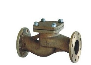 GB/T5A89-93 Boat Used Flange Bronze Check Valve