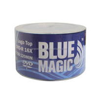 Blue Magic 16x 4.7GB Logo Top DVD-R 50 Packs Disc