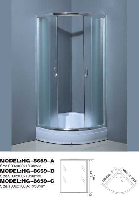 glass shower room sliding shower enclosure aluminum feet and handle bathroom vanity