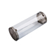 Gift plastic round box packaging hair extension pvc cylinder clear tube
