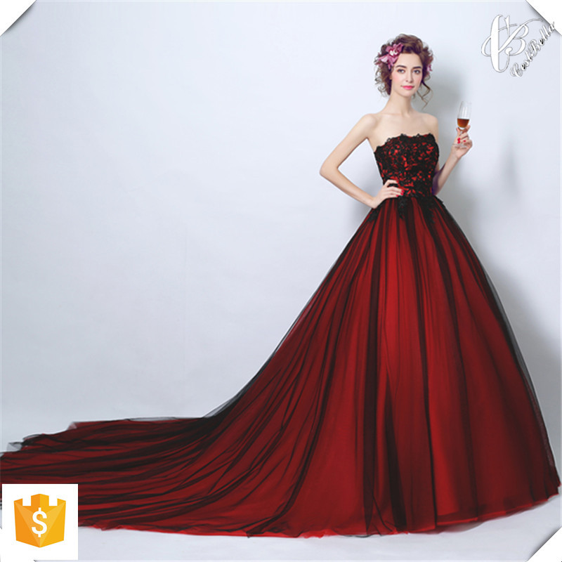 Women Western Style Sexy Long Train Long Tail Evening Formal Dresses